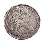 France Silver 1760 -  Jeton Louis XV  VF