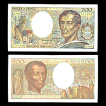 France 200 Francs 1988 Ferman, Dentaud and Charriau. VF-35