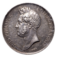 France silver 1830 -  Louis Philippe Rouen EF-40