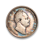 Great Britain Shilling 1837 VG-10