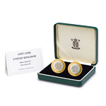 Great Britain 1998 2 Pounds Silver Proof Set - Standing on the Shoulders of Giants