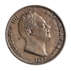 Great Britain 1837 -  Half Penny William IV VF-20