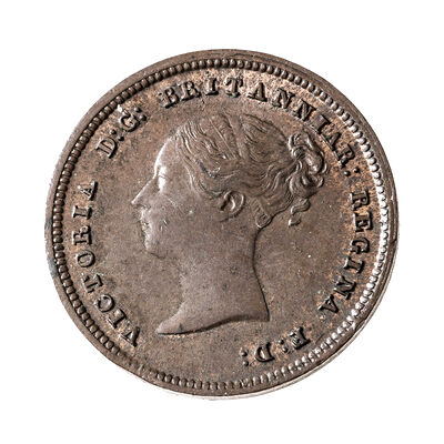 Great Britain 1843 -  1/2 Farthing Victoria EF-40