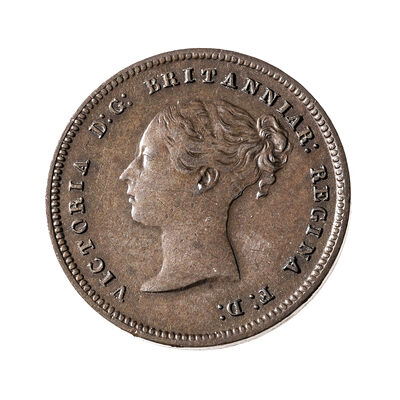 Great Britain 1844 -  1/2 Farthing Victoria EF-40