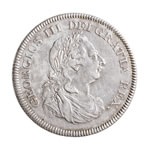 Great Britain silver 1804 -  1 Dollar George III VF-30