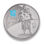 Great Britain 2010 5 Pounds Silver Proof Coin - London Olympics 2012