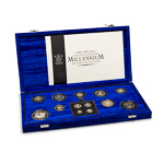 Great Britain 2000 5 Pounds Silver Proof Set - The United Kingdom Millenium Silver Collection