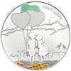 2014 $5 Paint Your Coin: First Love (Cook Islands) - Sterling Silver Coin