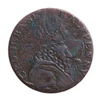 Ireland 1789 -  1/2 Penny Cronebane, Wicklow token VF-20