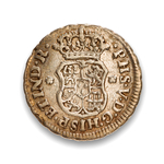Mexico 1/2 Real 1747 Ferdinand VI M VF-20