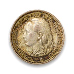 Netherlands 10 Cents 1894 Wilhelmina I   EF-40