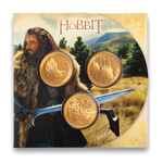 New Zealand 2012 1 Dollar Proof Set - The Hobbit: An Unexpected Journey