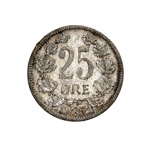Norway 25 Ore 1904 VF-30