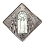 Palau silver 2011 -  10 Dollars St. Patrick Cathedral .925 Fineness