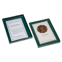 Rhodesia Bronze 10th Anniversary Independence Medallion