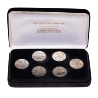 Russia 1992 1 Rouble Proof Set - 1992 USSR Olympic Proof Set