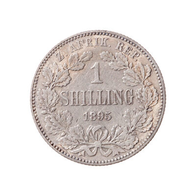 South Africa 1 Shilling 1895 VF-30