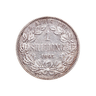 South Africa 1 Shilling 1895 EF-40