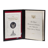 United States of America silver 1976 -  The Official Bicentennial Day Commemorative