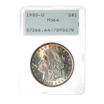 US $1 1900O Generation 1.2 slab PCGS MS-64