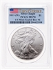 United States of America fine silver Eagle  -  First Strike 2011W PCGS