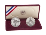 United States of America 1983 1 dollar Silver Set - Los Angeles Olympiad