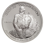 United States of America 1982 50c Silver Coin - George Washington