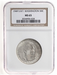 US 50C 1949-S Carver/Washingtion NGC MS-65