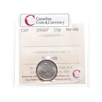 10 cent 2006P  ICCS MS-66
