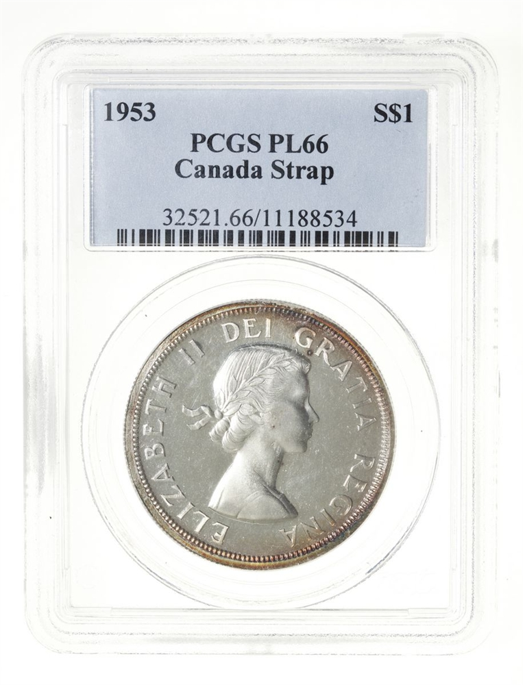1989 CANADA LOONIE PROOF ONE DOLLAR HEAVY CAMEO COIN