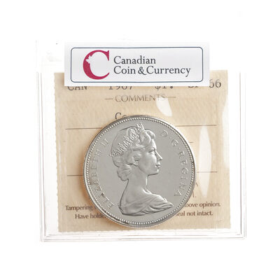 1 Dollar 1967 Cameo ICCS SP-66