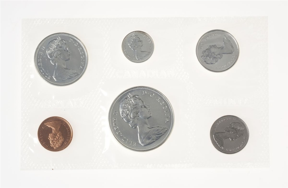 Brand New Uncirculated Bank Roll of 2011 Canadian Dimes