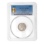 10 cent 1892 Small 9 PCGS EF-40