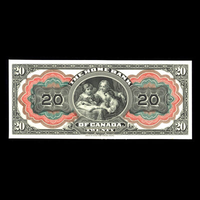 The Home Bank of Canada $20 1904