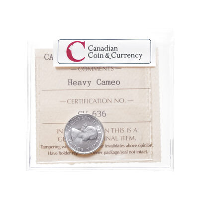10 cent 1964 Heavy Cameo ICCS MS-65