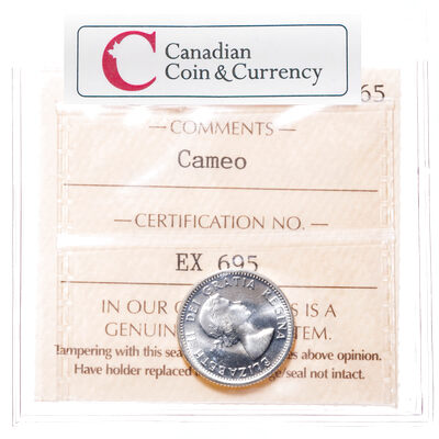 10 cent 1964 Cameo ICCS MS-65