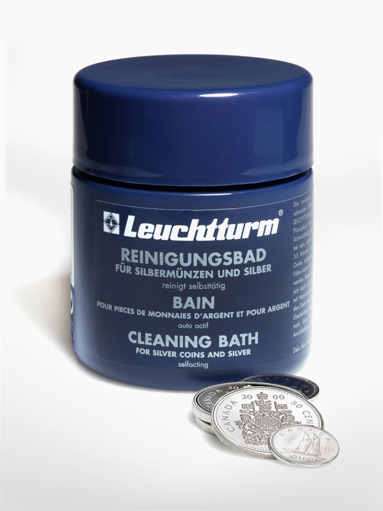 Wie Reinigt Silber coin cleaning fluid silver coin supplies collector card