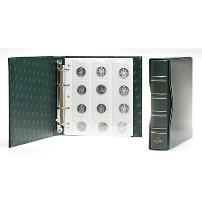 Classic NUMIS Album with Presentation Box - Green