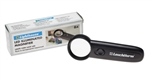 Compact LED Illuminated Magnifier - 6x Magnification