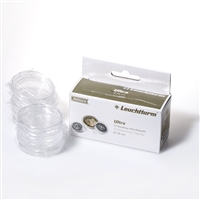 ULTRA Rimless Coin Capsules 38mm (10 pack)