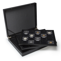 Presentation Case - 60 coin holders 2x2""