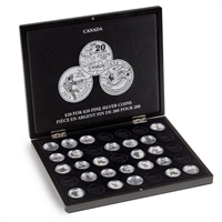 Presentation Case for $20 for $20 Silver Coins