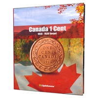 Vista Coin Album: Canada 1 Cent, 1858 - 1920 (Large)