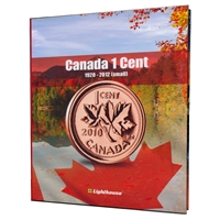 Vista Coin Album: Canada 1 Cent, 1920 - 2012 (Small)