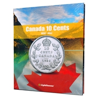 Vista Coin Album: Canada 10 Cents, 1858 - 1952