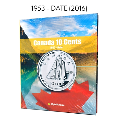 Vista Coin Album: Canada 10 Cents, 1953 - Date
