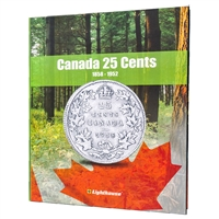 Vista Coin Album: Canada 25 Cents, 1858 - 1952