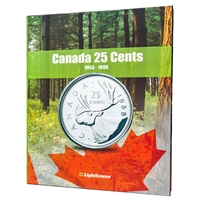 Vista Coin Album: Canada 25 Cents, 1953 - 1999