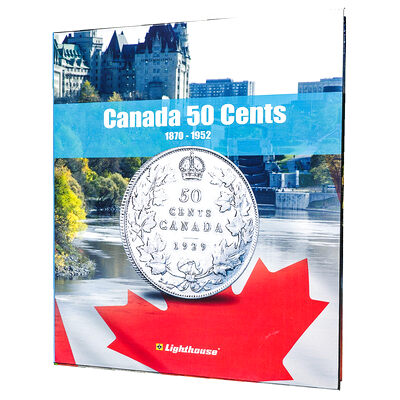 Vista Coin Album: Canada 50 Cents, 1870 - 1952