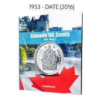 Vista Coin Album: Canada 50 Cents, 1953 - Date